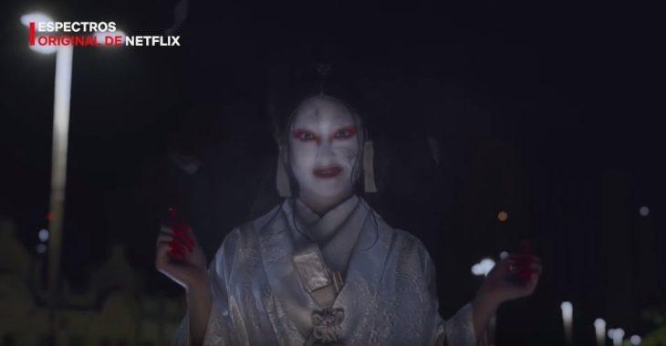Escena de Espectros en Netflix