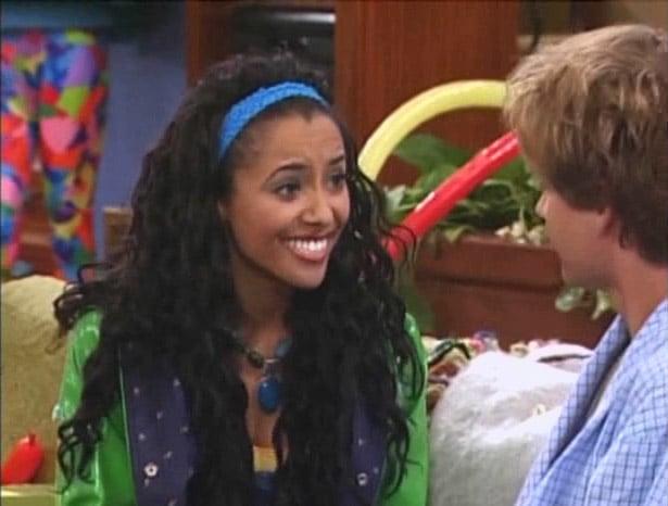 Kat Graham como novia de Jackson, hermano de Miley, en Hannah Montana.