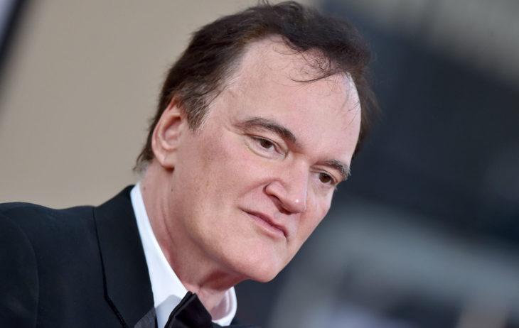 Quentin Tarantino no tapete vermelho de Era Uma Vez em Hollywood