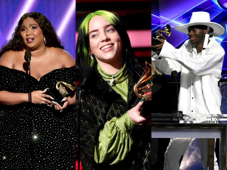 Mejores momentos de los Grammy 2020; Lizzie, Billie Eilish, Lil Nas X