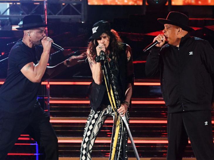 Mejores momentos de los Grammy 2020; Aerosmith cantando con Run DMC