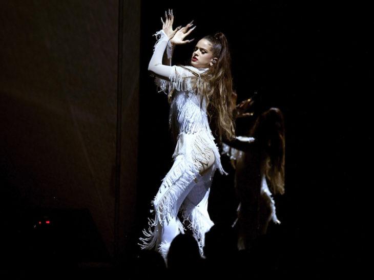 Mejores momentos de los Grammy 2020; Rosalía bailando flamenco