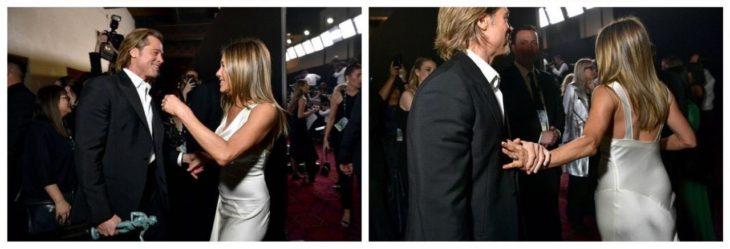 Jennifer Aniston y Brad Pitt reencuentro