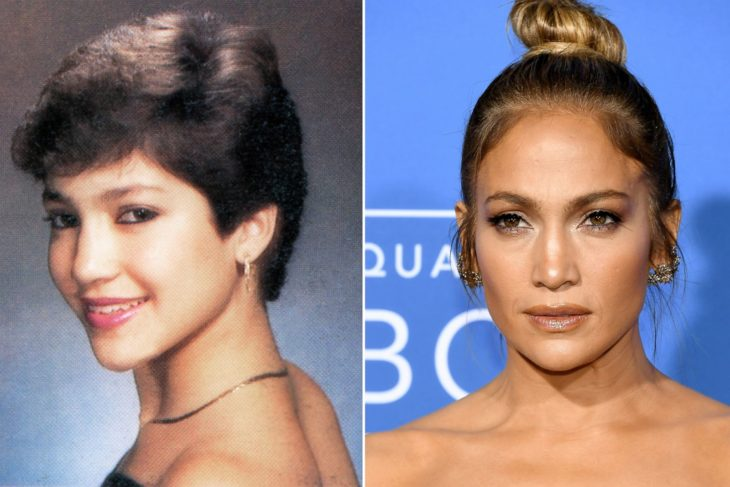 Jennifer Lopez antes y después