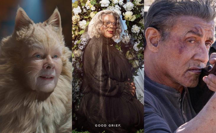 Keanu Reeves es nominado a Peor Actor en los premios Razzie por Réplicas; Cats, Madea's Funeral, Rambo: Last Blood
