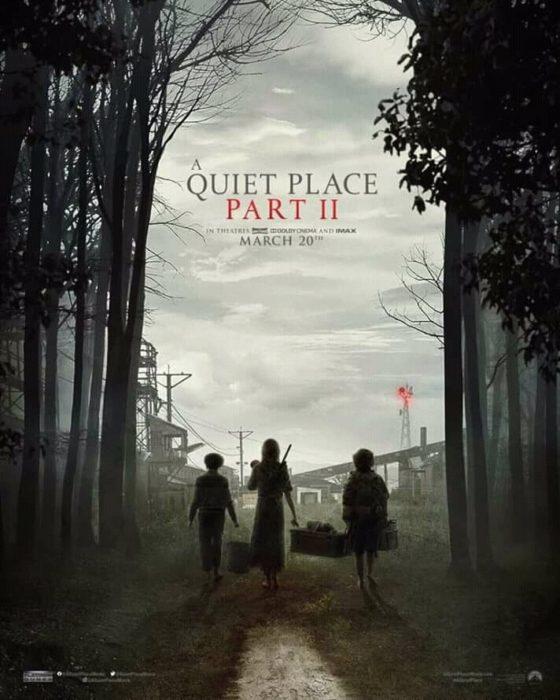 Póster oficial de la película 'Un lugar en el silencio2'