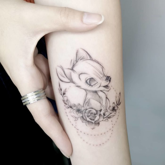 Tatuaje de Bambi, Bambi, Disney