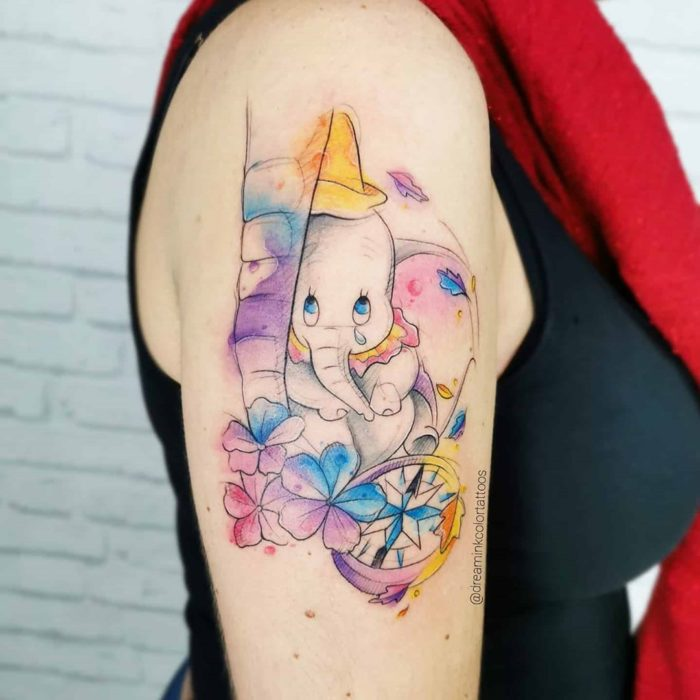 Tatuaje de Dumbo, Dumbo, DIsney