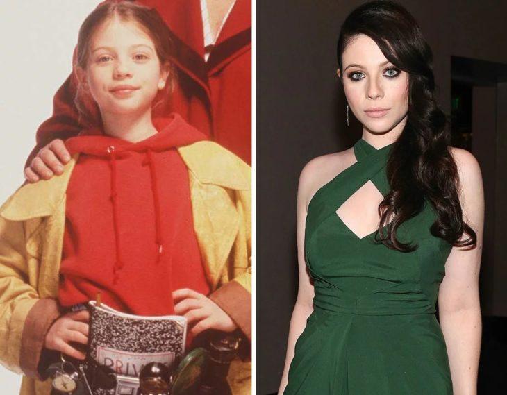 Michelle Trachtenberg antes y después
