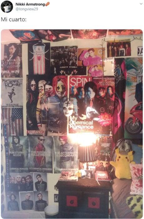 My Chemical Romance está de vuelta con un nuevo video, An Offering; cuarto emo lleno de posters