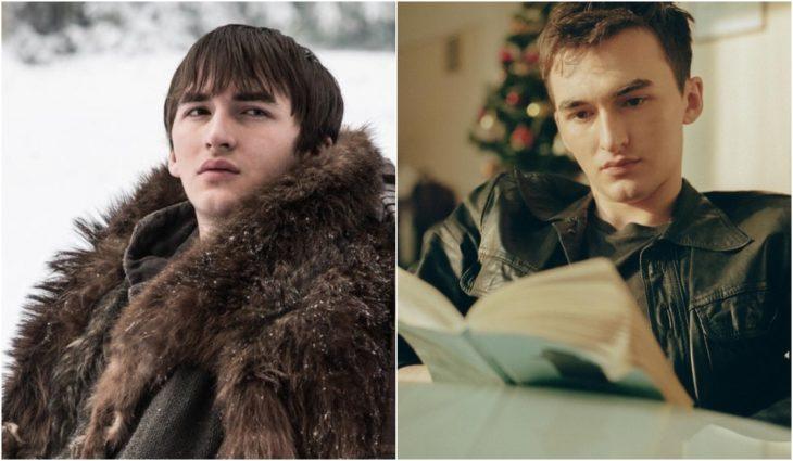 Isaac Hempstead Wright como Bran Stark en Juego de tronos