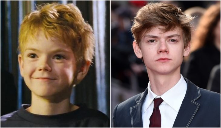 Thomas Brodie-Sangster en Love Actually