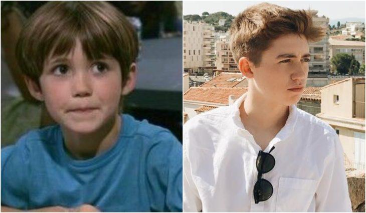 Preston Bailey de niño en la serie Dexter