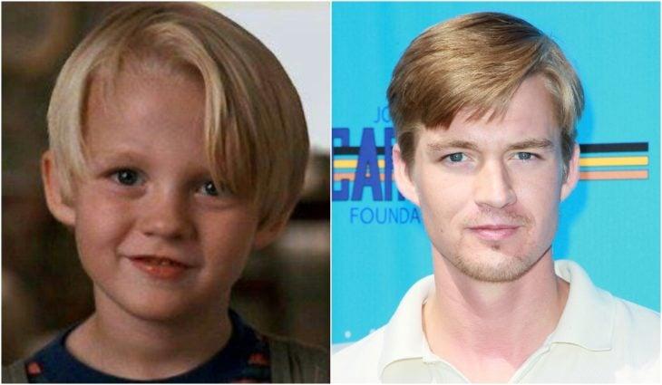 Mason Gamble de niño en la película Daniel el travieso