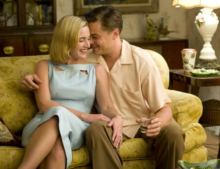 Kate Winslet, Leonardo DiCaprio, April y Frank Wheeler, Solo un sueño, Revolutionary road