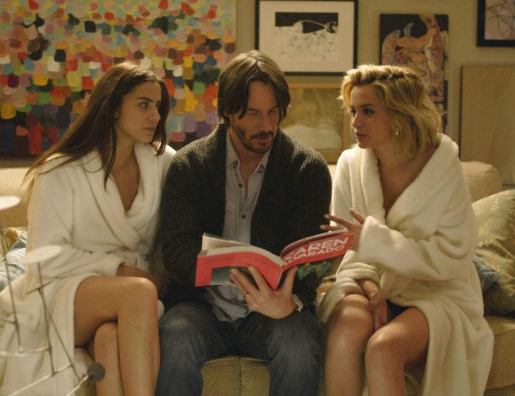 Keanu Reeves, Ana de Armas, Lorenza Izzo, Evan Webber, Bel, Génesis, El lado oscuro del deseo, Knock knock