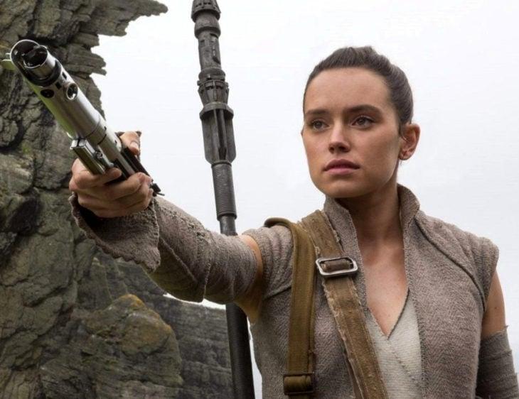 Daisy Ridley, Rey en Star Wars: el despertar de la fuerza