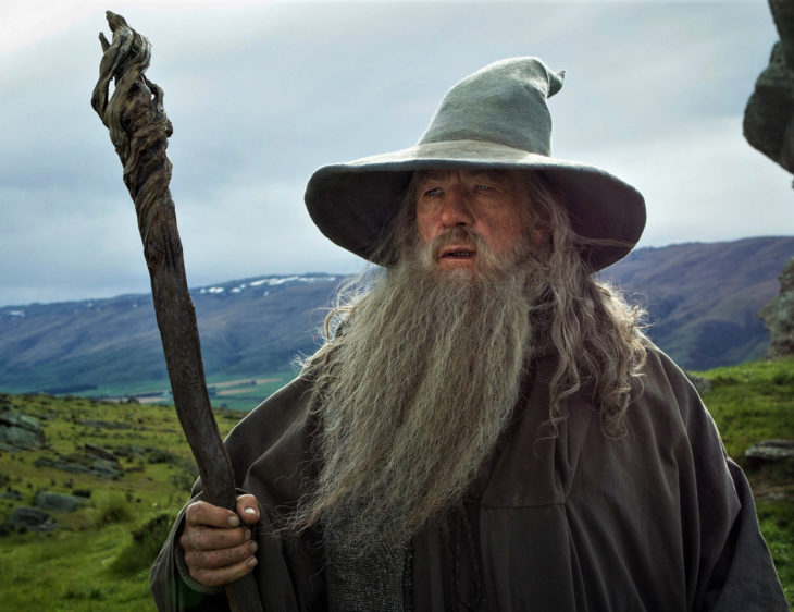 Ian McKellen, Gandalf el gris, El Hobbit