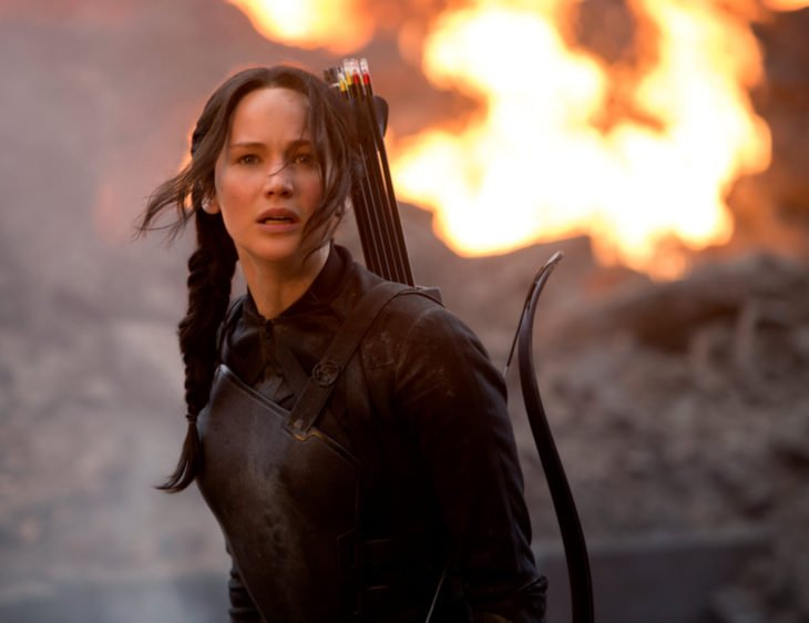 Jennifer Lawrence, Katniss Everdeen, Los juegos del hambre, Hunger games