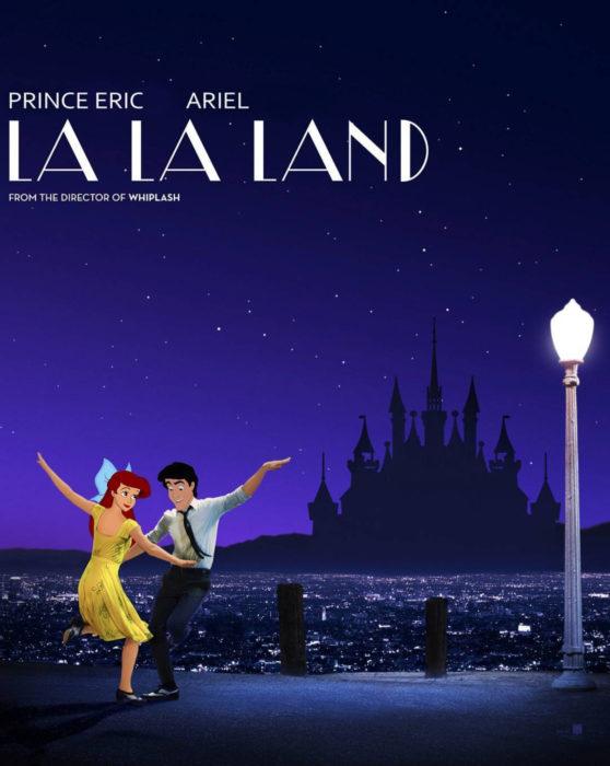 Gregory Masouras dibujó a las princesas Disney en películas y series; La Sirenita, Ariel y Eric, La la land