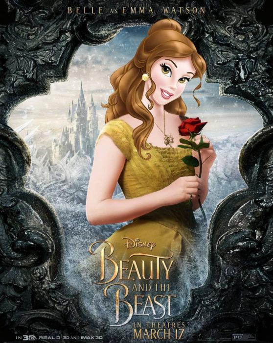 Gregory Masouras dibujó a las princesas Disney en películas y series; La Bella y la bestia