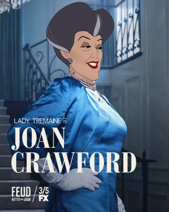 Gregory Masouras dibujó a las princesas Disney en películas y series; madrastra de Cenicienta, Feud, Lady Tremaine