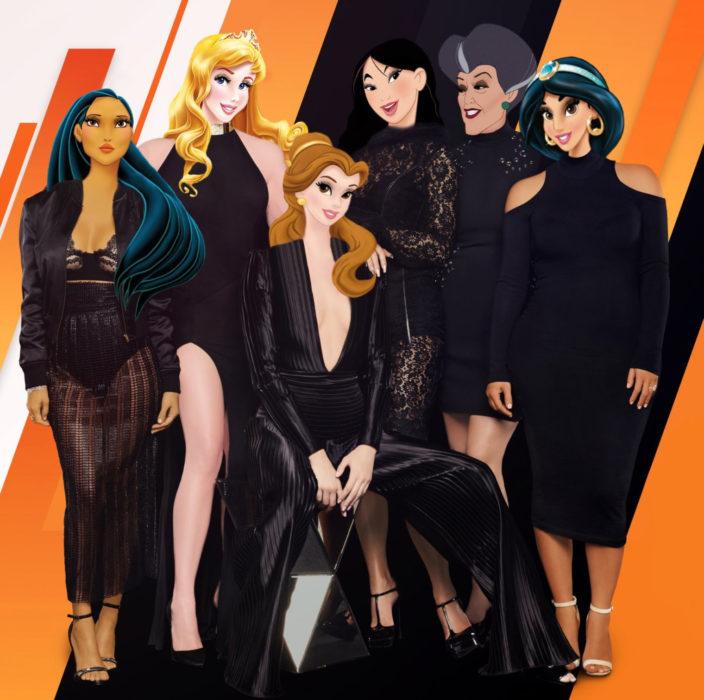 Gregory Masouras dibujó a las princesas Disney en películas y series; Keeping up with the Kardashians; Pocahontas, Aurora, Bella, Mulán, Jasmín, Madrastra malvada de Cenicienta
