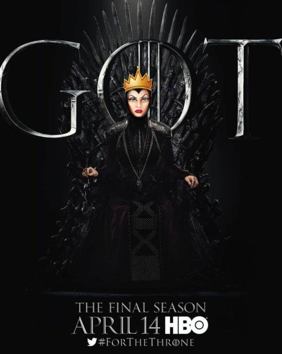 Gregory Masouras dibujó a las princesas Disney en películas y series; La reina malvada de Blancanieves, Game of thrones