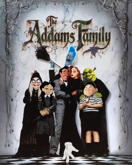 Gregory Masouras dibujó a las princesas Disney en películas y series; bruja de Blancanieves, Gastón, Hades, Shrek, Jessica Rabbit, Russell, La familia Addams
