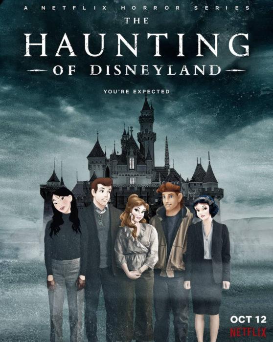 Gregory Masouras dibujó a las princesas Disney en películas y series; La mansión de hill house, Mulan, Bella, Hércules, Blancanieves y príncipe de Cenicienta
