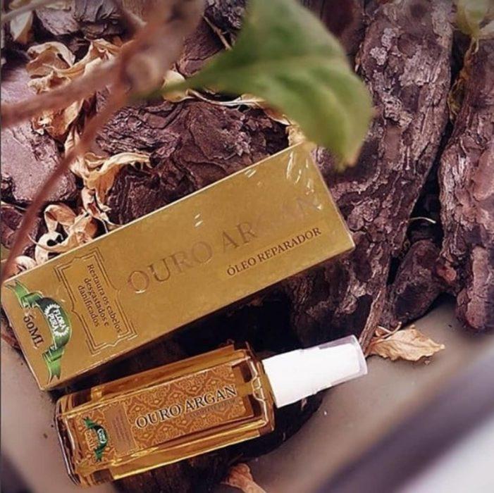 Suero de argán en empaque reciclable