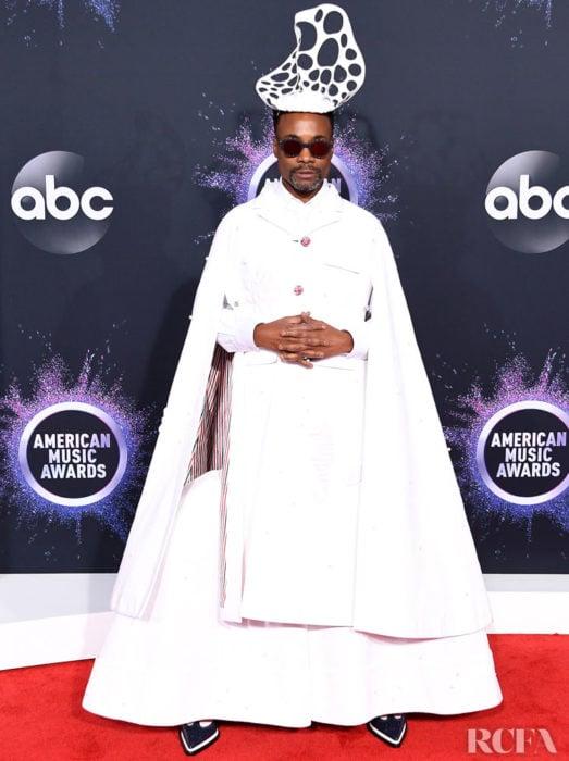 Billy Porter look capa blanca American Music Awards 2019