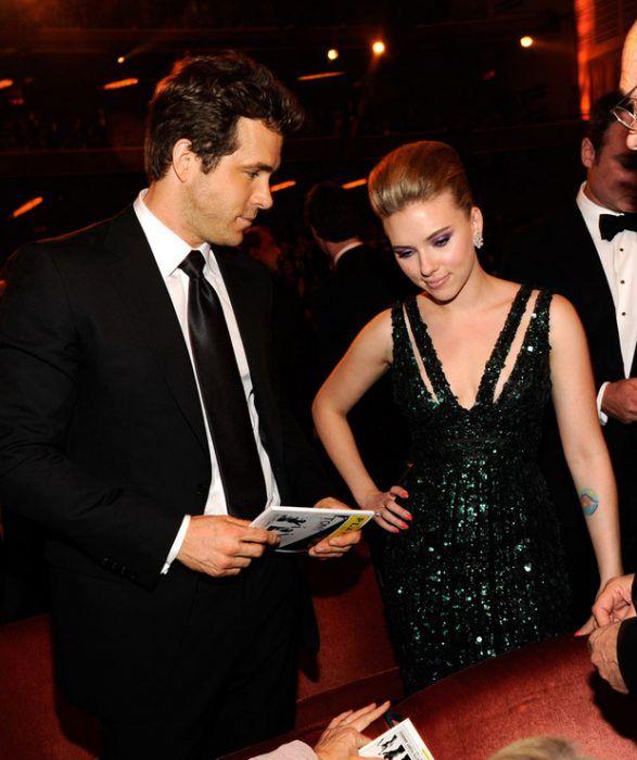 Ryan Reynolds y Scarlett Johansson