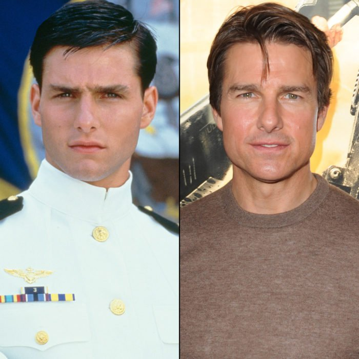 Tom Cruise antes y después