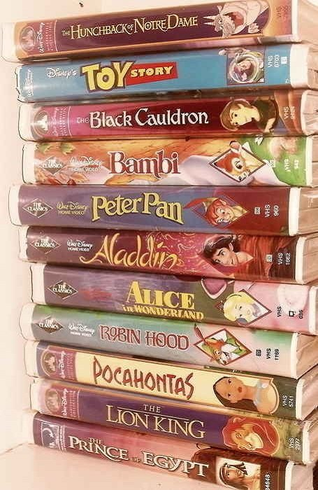 Cintas VHS de Disney