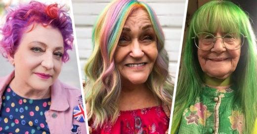 20 Abuelitas demuestran tener más estilo que cualquiera con sus cabellos de color fantasía