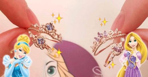 Esta colección de anillos de compromiso de Disney son un sueño hecho realidad