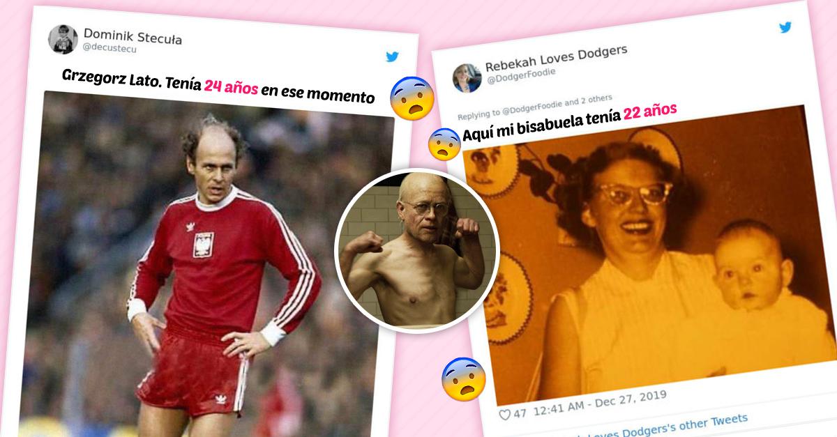 Este hilo de Twitter demuestra que la gente de antes envejecía más rápido