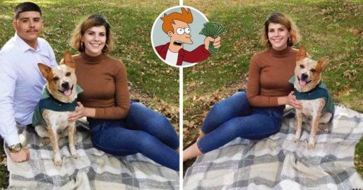 Mujer se ofrece a borrar a tu ex de tus fotos por solo 10 dólares