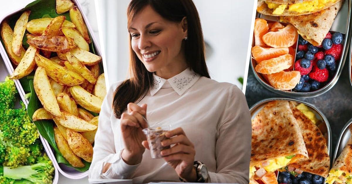 15 Deliciosos lunchs para un cambio fitness