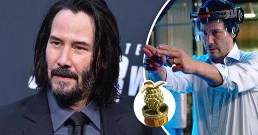 Keanu Reeves fue nominado a Peor Actor en los Razzie Awards por su película Réplicas