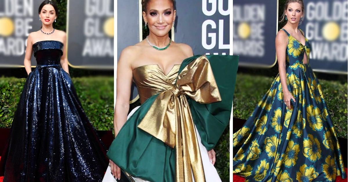 20 Famosas que brillaron por su elegancia en los Golden Globes 2020