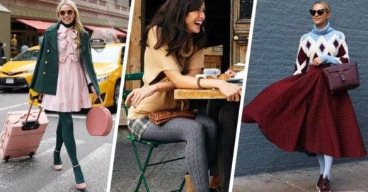 15 Ideas de atuendos con medias de colores para que le des vida a tus piernas