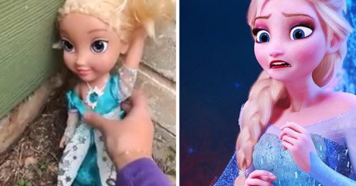 Esta muñeca fue botada a la basura, pero siempre regresaba a casa