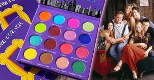 ¡Prepárate! Peach Queen lanza paleta de sombras inspirada en 'Friends'