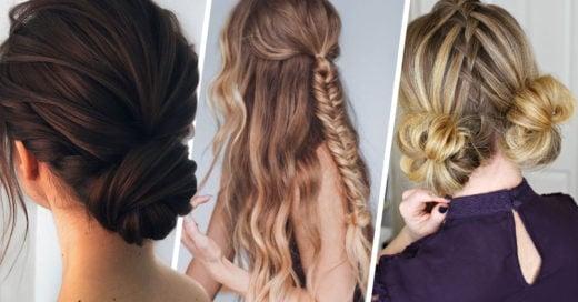 20 Peinados fáciles y bonitos para enamorarte en San Valentín