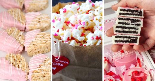 15 Sencillos postres para sorprender a tu novio en San Valentín
