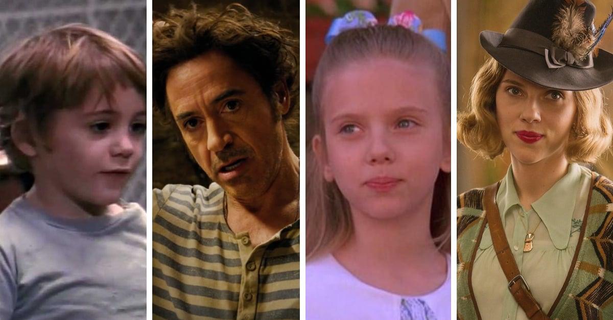 15 Actores en su primer papel vs. el último