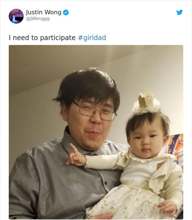 Comentarios en Twitter sobre la relación entre padres e hijas