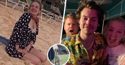 Adele y Harry Styles fueron vistos juntos en la playa: ¿romance o colaboración?